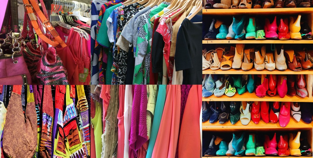 untidy wardrobe